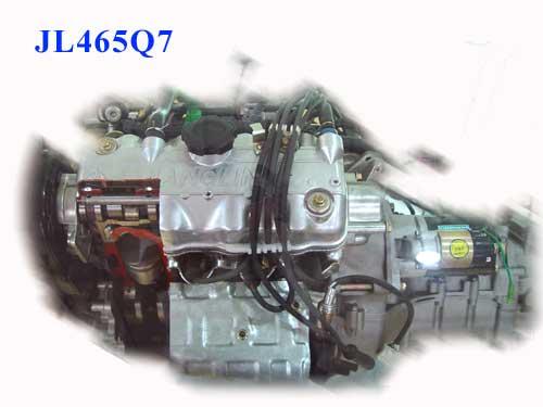 jl465q7发动机图片